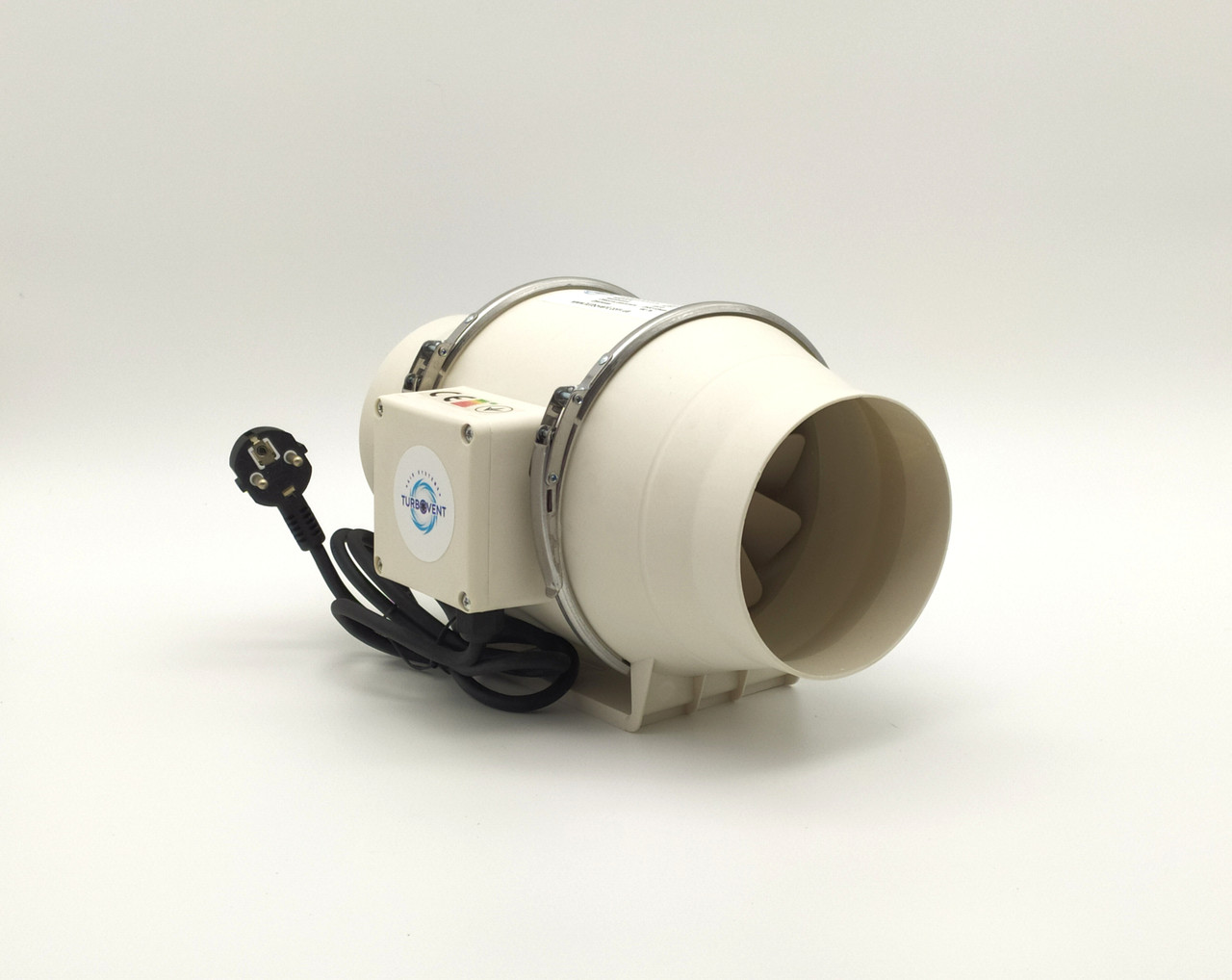 Вентилятор канальний круглий Турбовент ПВК 125