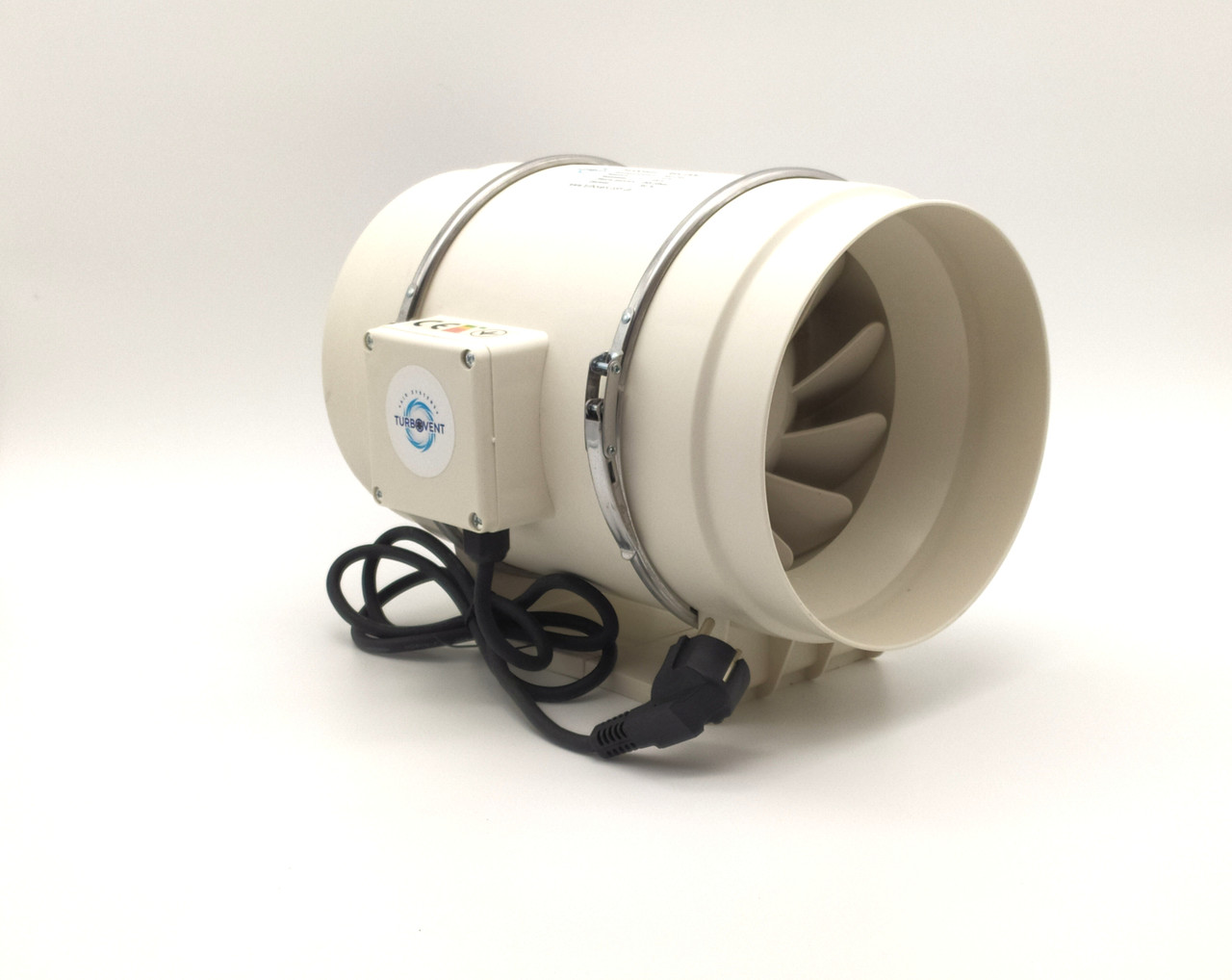 Вентилятор канальний круглий Турбовент ПВК 200