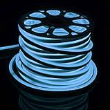 Светодиодная лента в силиконе BY-035/120 220V 50м 5730 BL NEON, фото 2