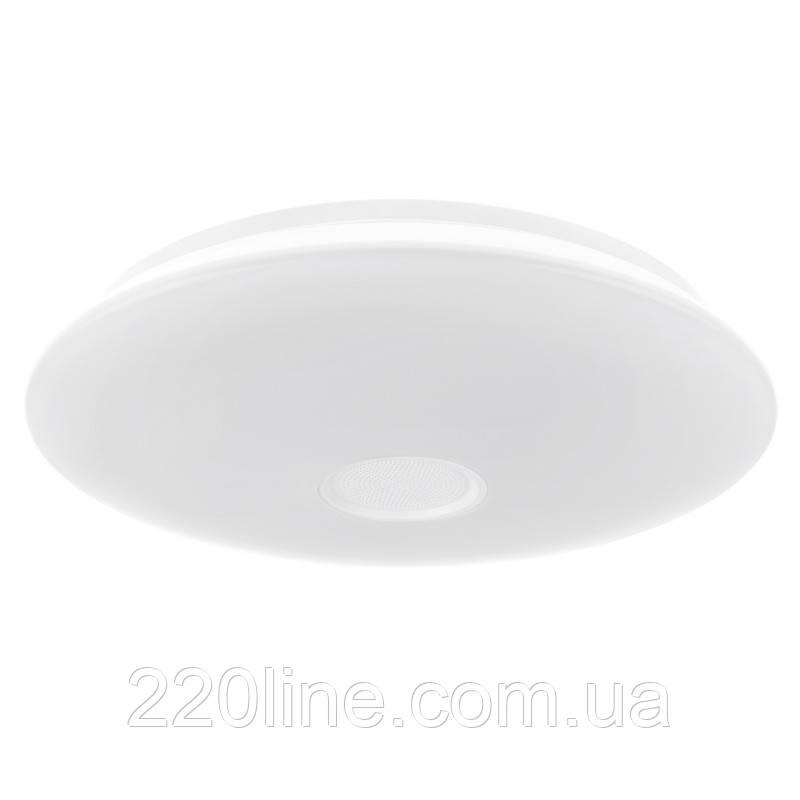 Светильник настенно-потолочный светодиодный с пультом W-605/24W RGB c bluetooth