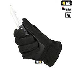 M-Tac перчатки Fleece Thinsulate Black, фото 3