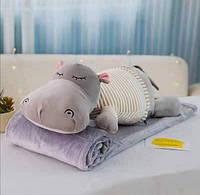 Плед подушка іграшка для дитини різні кольори