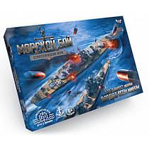 Настольная развлекательная игра Danko Toys G-MB-02 Морской бой