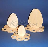 Пасхальная подставка кулича и яиц (большая) №1 заготовка для декупажа и декора