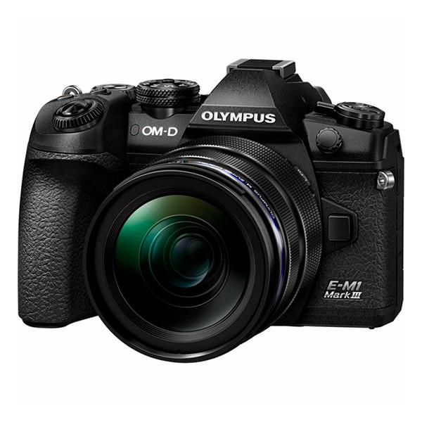 Цифровий фотоапарат OLYMPUS E-M1 mark III 12-40 Kit black/black