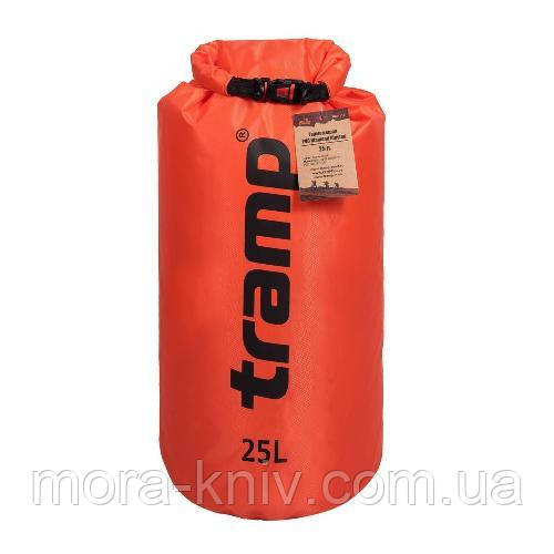 Гермомешок PVC Diamond Rip-Stop 25л Tramp TRA-118-orange