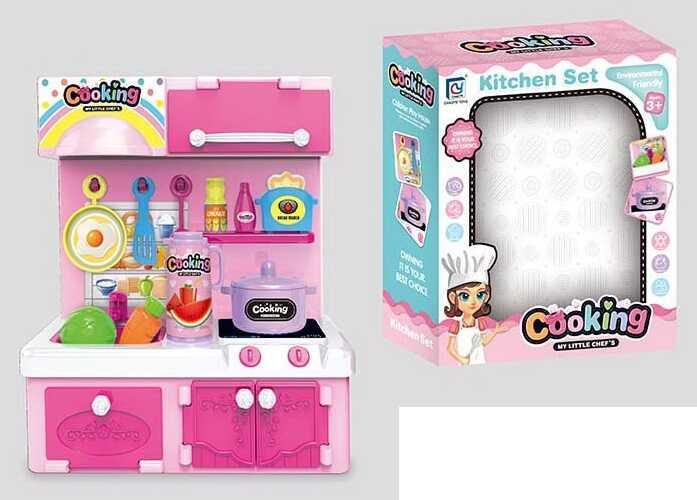 Кухня кукольная 818-185 (72) в коробке