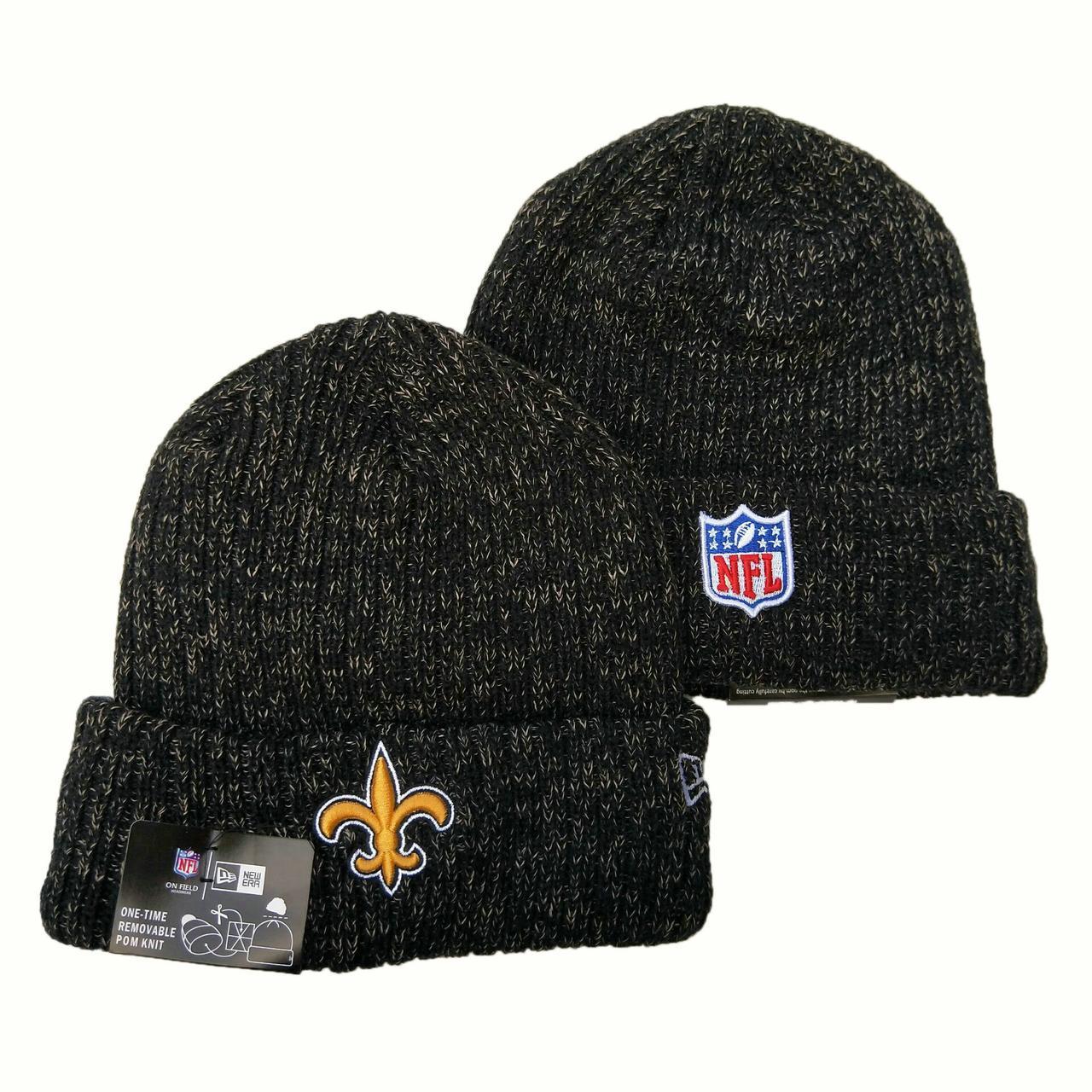 Шапка зимняя New Orleans Saints /  SPK-261 (Реплика)