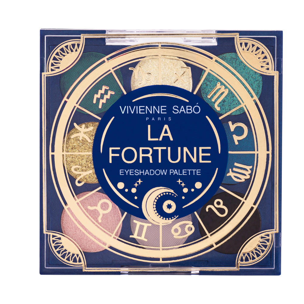 Палетка тіней Vivienne Sabo Zodiaque La Fortune 9 кольорів №01 (7 г)