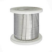 Нихромовая лента ширина 3 мм толщина 0.4 мм Х20Н80 PRC