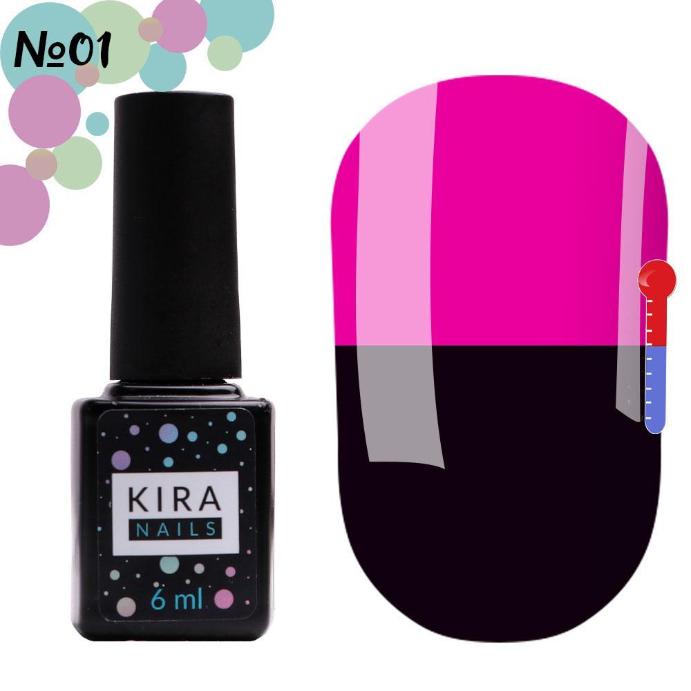 Гель-лак Kira Nails Termo №01