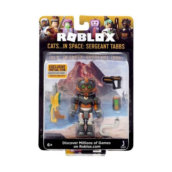Ігрова колекційна фігурка Jazwares Roblox Core Figures Cats IN SPACE: Sergeant Tabbs W5 (ROG0163)