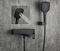 Смеситель для ванны FUTURA  3456-7 Черный матовый, фото 1