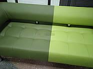 Офисный диван в офис Стронг Mix (MebliSTRONG) - темно-светло зеленый матовый цвет, фото 6