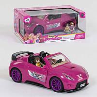 Машина кукольная 7896 (36/2) 2 фигурки, свет фар, звуковые эффекты, в коробке