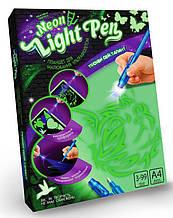 Набор Рисование светом Котик (Neon Light Pen), Danko Toys (NLP-01-02U)