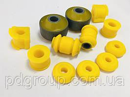 Комплект полиуретана передняя подвеска CHERY Amulet Чери Амулет усиленные сайлентблоки втулки A11-2909050