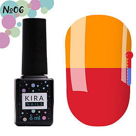 Гель-лак Kira Nails Termo №06