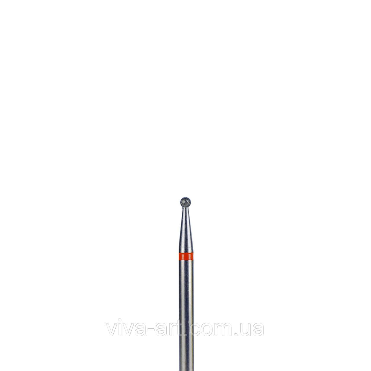 Алмазна насадка шарик, 1.6 мм, Meisinger (Германия) (абразивность в ассортименте)