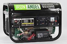 Генератор бензиновий Iron Angel EG3200Е ( 3.0 кВт. ел.стартер)