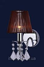 Бра настенніе светильники с абажуром Levistella 720W4001WH-1WH BROWN