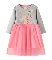 Детское платье Единорог  92, 104, 110, 122