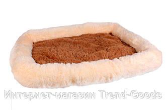 Лежанка Шик для собак и кошек серии Уют 36x48x8 см SKL60-259922