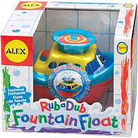 """Игрушка для ванной """"Фонтанный Катер"""" от  ALEX 821W"""
