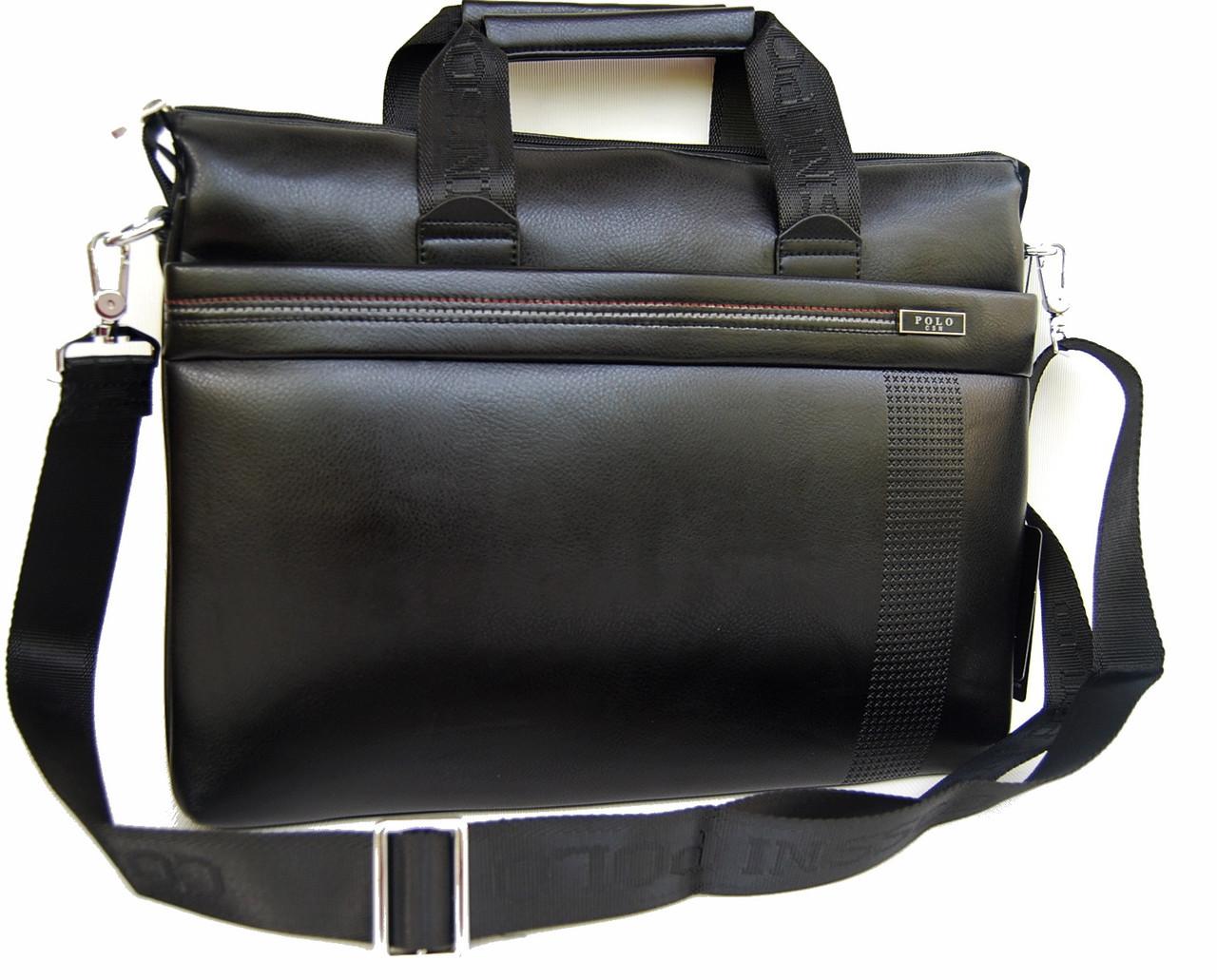 8ed59687211e Мужская сумка-портфель Polo под формат А4 КС62 - интернет-магазин