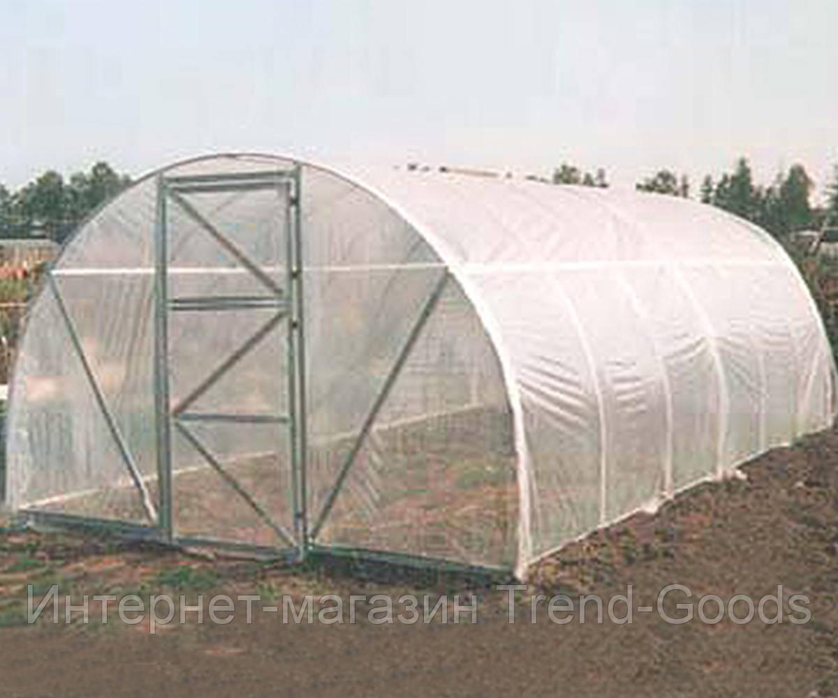 Теплица Oscar Дачница 24 м², 400х600х220 см каркас под пленку серый SKL54-240861
