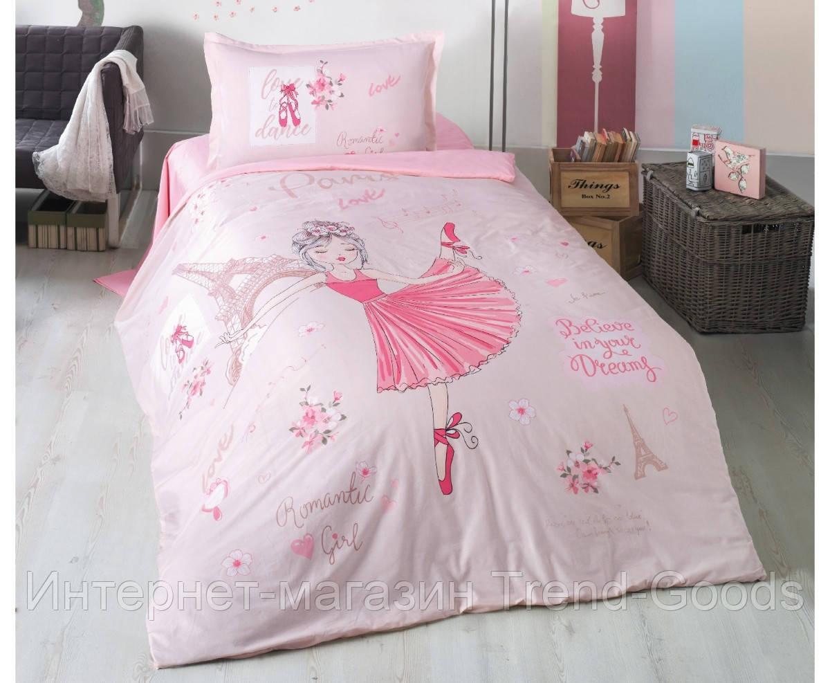 Подростковое постельное белье Aran Clasy Romantic Girl 160x220 SKL53-239717