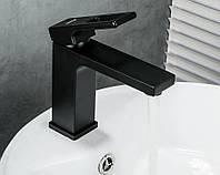 Змішувач для раковини FUTURA G1050 Чорний матовий, фото 1
