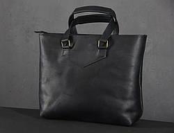 Сумка для покупок кожаная LS-09-CH Черный