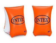 Надувные нарукавники для плаванья большой размер улучшенные Intex 58641NP