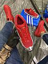 Adidas Raf Simons Red Silver Metallic (Красный), фото 2