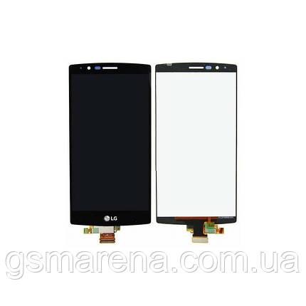 Дисплей модуль LG G4 F500, G4 H810, G4 H811, G4 H815, G4 H818, G4 LS991, G4 VS986 Черный, фото 2