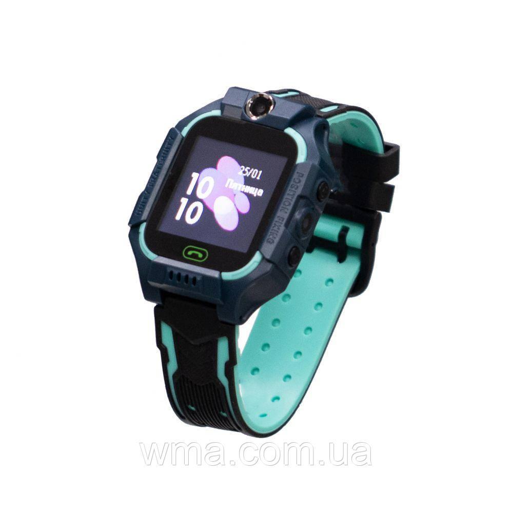 Детские Смарт Часы Z6 Цвет Зелёный