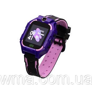 Детские Смарт Часы Z6 Цвет Фиолетовый