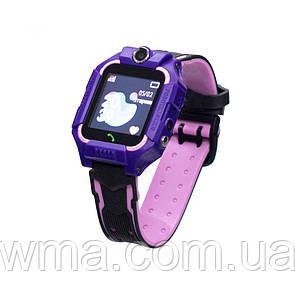 Детские Смарт Часы FZ6 Цвет Фиолетовый