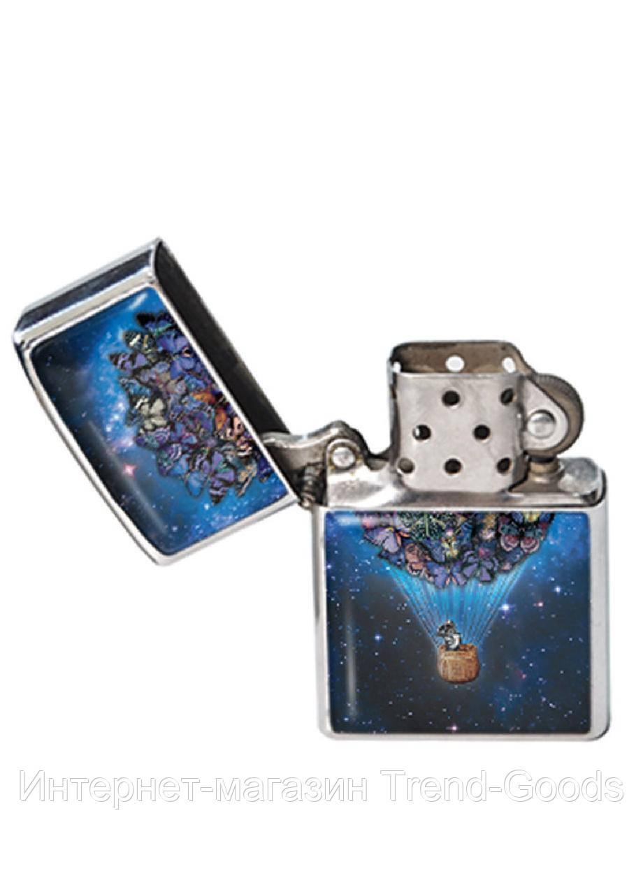Зажигалка DM 01 В космосе синяя SKL47-176895