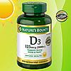 Nature's Bounty Vitamin D3 125mcg - Витамин D3 125мг (400табл.), фото 2