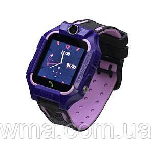Детские Смарт Часы FZ6W Цвет Фиолетовый