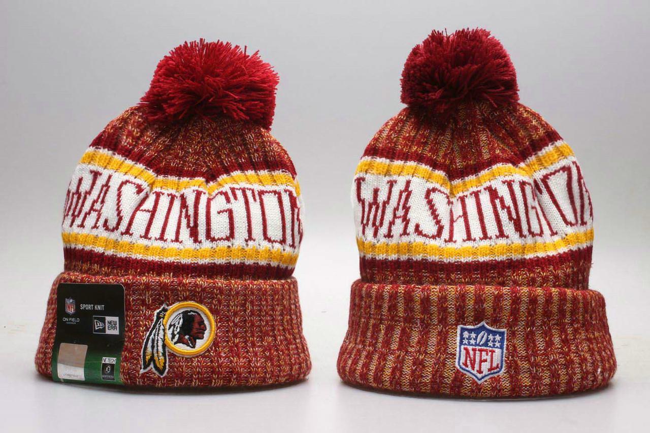 Шапка зимняя Washington Redskins /  SPK-281 (Реплика)