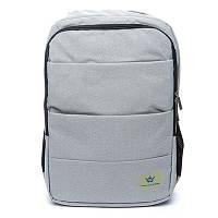 Жіночий рюкзак BST 430001 47х33х15 див. світло - сірий