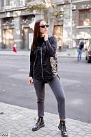 Стильная куртка на флисе большой размер: 48-50,52-54,56-58