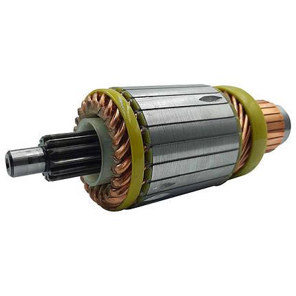 06-2481301 Якір до стартерів 24В (8,1 кВт) (TM JFD) (12 шліців), фото 2