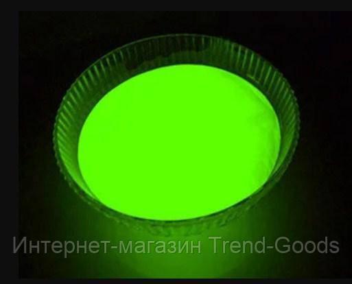 Светящийся порошок люминесцент зеленый базовый Люминофор Просто и Легко 20г SKL12-241312