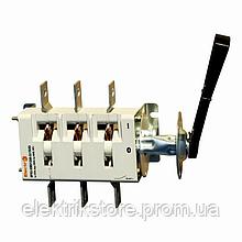 Вимикач-роз'єднувач ВР32 (рубильник перекидний) з камерою 400А ElectrO