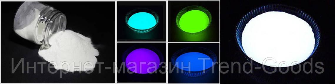 Светящийся порошок люминесцент Комплект 5 красителей базового Люминофора Просто и Легко по 50г SKL12-241346