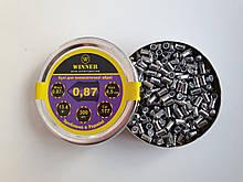 Пули 4,5 мм Winner 0,87 г остр. (300 шт.)